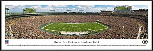 (Green Bay Packers - Standard Framed NFL Print by Blakeway Panoramas)