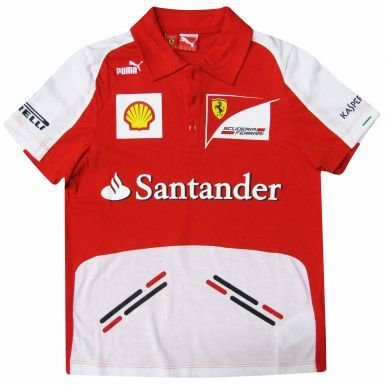 F1 Scuderia Ferrari niños Polo por Puma, color , tamaño Kids Size ...