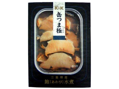K&K 缶つま極 三重県産 あわび水煮  105g ×12