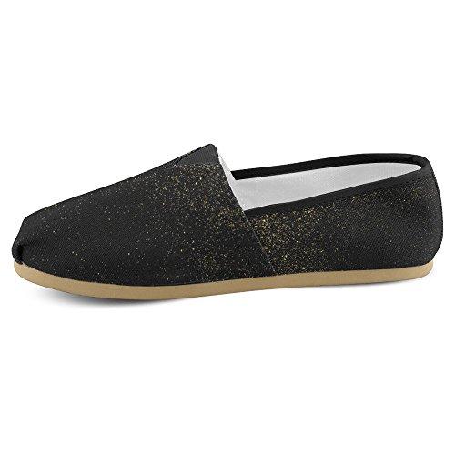 Interestprint Femmes Mocassins Classique Casual Toile Glisser Sur La Mode Chaussures Sneakers Appartements Multi 16