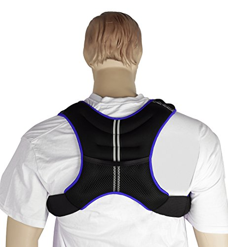 GYMENIST Weight Vest with Adjustable Straps One Size Fits All (18 LB)