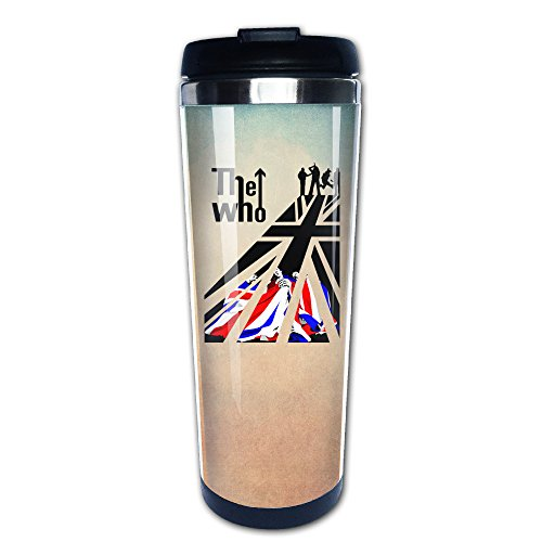 Boomy Funny The Who Who Is Next Stainless Steel Coffee Mug For Indoor & Outdoor Office School Gym Use (Brain Gym Cd)
