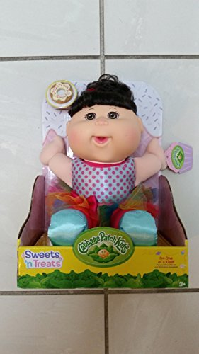 Cabbage Patch Kids Sweets 'n Treats ( Dark Hair ) Cookie - Cabbage Patch Doll Birthday