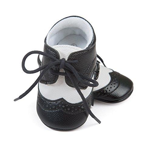 Etrack-Online , Baby Mädchen Lauflernschuhe schwarz schwarz 6-12 Month schwarz