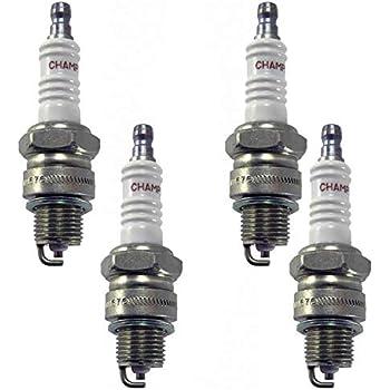Champion Spark Plug Copper Marine 938M QL78YC 4 Pack