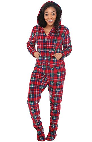 Alexander Del Rossa (Product RED Womens Fleece Onesie,