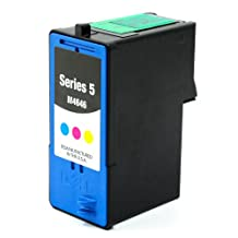 SaveOnMany ® Dell M4646 / R5974 (Series 5) J5567 Color Remanufactured (450 Pages High Yield) Ink Cartridge For 922 All-In-One / 924 All-In-One / 942 All-In-One / 944 All-In-One / 946 All-In-One / 962 All-In-One / 964 All-In-One