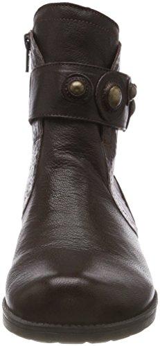 Women's 42 Boots 383015 Espresso Ankle Think Denk kombi fxURSUC
