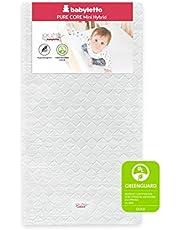 Babyletto Pure Core Non-Toxic Mini Crib MattressWith Hybrid Cover