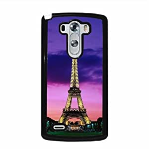 Eiffel Tower Night Lights Paris LG G3 Protective Cell Phone Cover Case - Fits LG G3 by icecream design