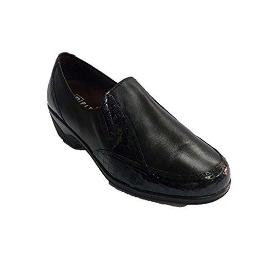 Gomas De Mujer Zapatos Pitillos Adornos Con Los Cocodrilo Negro En Lados 6wxXFAqt