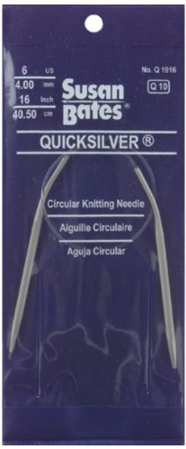 Susan Bates 29-Inch Quicksilver Circular Knitting Needle, (Quicksilver Circular Knitting Needle)