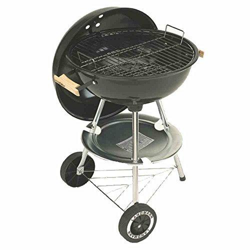 Grill chef barbecue a charbon boule en acier émaillé