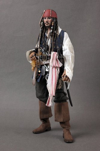 hot toys DX06 Pirates of the Caribbean Captain Jack Sparrow 1//6 Accessories