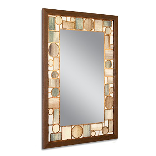 Head West 24.5 x 34.5 Oak Park Mirror, 24-1/2x34-1/2 for sale  Delivered anywhere in USA