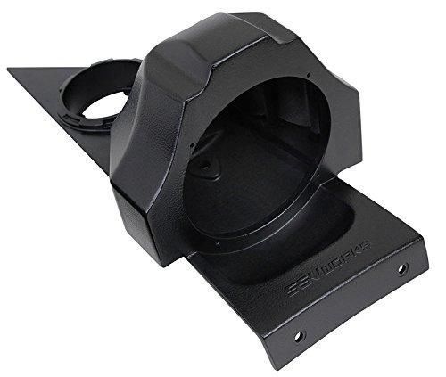 SSV Works SS-B65U Polaris Slingshot Behind Seat Pods Pair for 6.5'' Speakers Unloaded by SSV Works