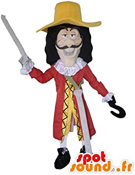 mascota SpotSound del Capitán Garfio, personaje malvado de Peter ...