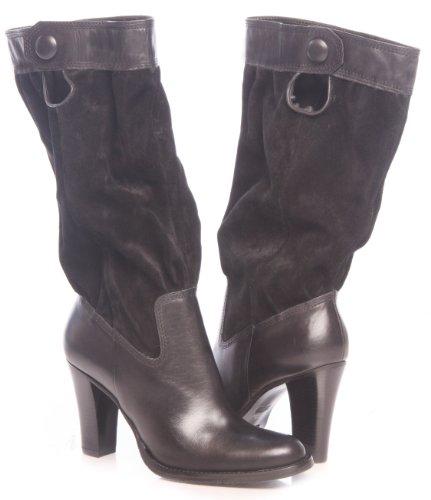 - Diba Women's Armada Suede & Leather Boots (8.5, Black)
