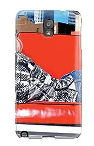 Premium Durable Avril Lavigne With Red Sofa Desktop Fashion Tpu Galaxy Note 3 Protective Case Cover