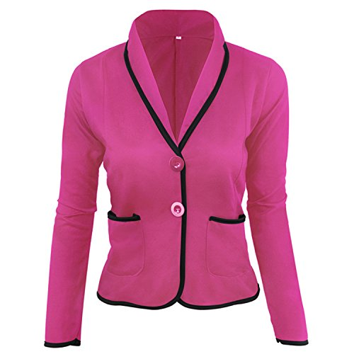 David Salc womens work jacket office blazers for women blazer chaquetas blazer women plus size picture colorL at Amazon Womens Clothing store: