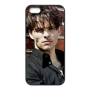 James Marsden funda iPhone 4 4S caja funda del teléfono celular del teléfono celular negro cubierta de la caja funda EOKXLKNBC10047