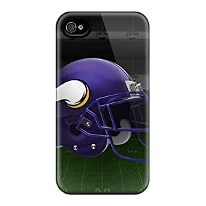 Anti-Scratch Hard Phone Cover For Iphone 6plus With Customized Realistic Minnesota Vikings Series IanJoeyPatricia
