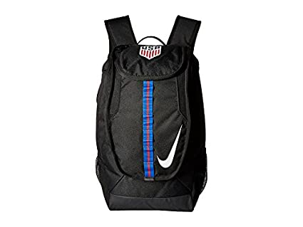 Amazon.com   Nike Allegiance USA Shield Compact Black White Backpack ... 4652cd329cd0d