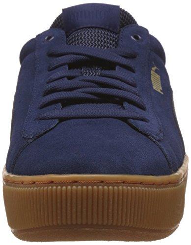 Vikky Blue Navy Fashion PUMA PUMA Platform Womens Womens Sneaker tagFq