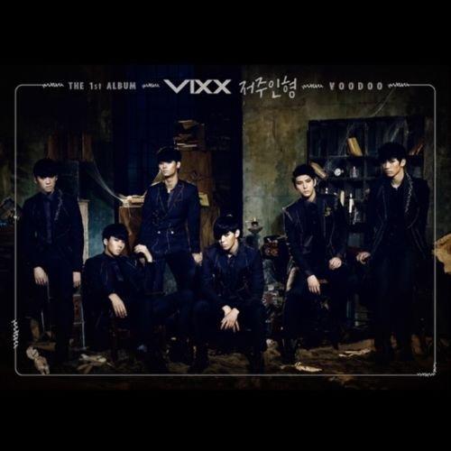 VIXX [VOODOO] 1st Album CD+Photobook+Tracking Number K-POP SEALED