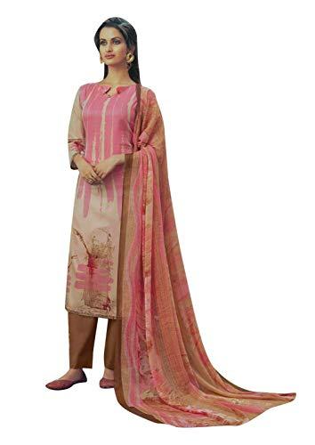 ladyline Casual Cotton Printed Salwar Kameez Ready to Wear Indian Pakistani Dress Suit