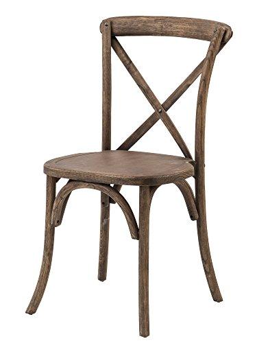 Commercial Seating Products W-708-X02-RWDW Wood Dining Chair, Dark Walnut