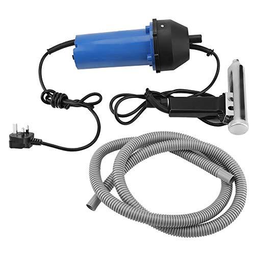 - 220V 1000W Welding Heat Gun Split Plastic Torch Hot Air Welding Tool for instruments, dust, moisture, drying engines(UK Plug 220v)