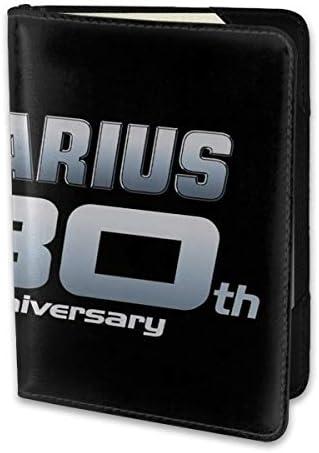 ダライアス Darius 30th Anniversary パスポートケース メンズ レディース パスポートカバー パスポートバッグ 携帯便利 シンプル ポーチ 5.5インチ PUレザー スキミング防止 安全な海外旅行用 小型 軽便