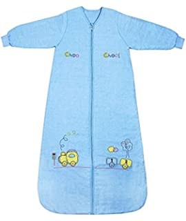 Slumbersac Saco de dormir de bebé Invierno manga larga aprox. 3.5 Tog, trenecito,