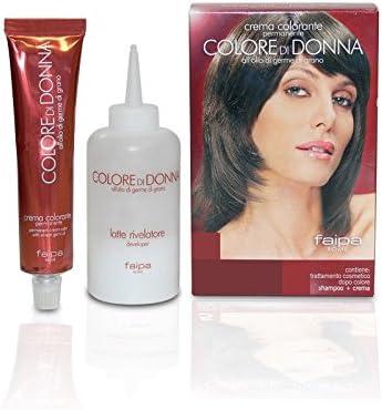 faipa Color de mujer crema Tinte 7.4 Rubio Cobre: Amazon.es ...
