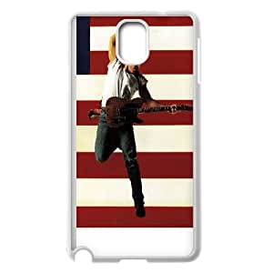 Samsung Galaxy Note 3 Cell Phone Case White Bruce Springsteen JDQ Protective DIY Phone Case