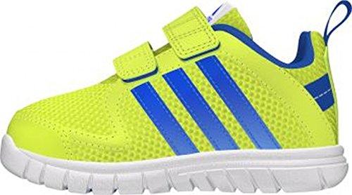 Para niños de Adidas zapatillas STA fluid 3 CF I Azul-Blanco-Verde