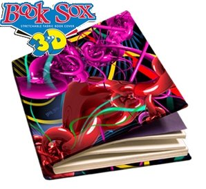 1 X 3D Book Sox - Wicked
