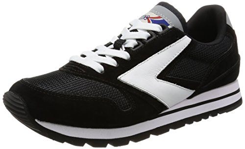 Brooks Heritage Women's Chariot Trainer Jet Black/White jdExS8