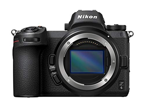 Nikon Z6 24.5MP Full Frame Mirrorless Interchangeable-Lens Camera (Available optional lenses: NIKKOR Z 24-70mm f/4 S, NIKKOR Z 35mm f/1.8 S, NIKKOR Z 50mm f/1.8 S)