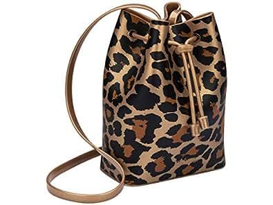 Mini Sac Bag Print (Dourada/Preta / Marrom)