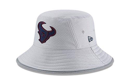 Nfl Training Camp - New Era NFL 2018 Training Camp Sideline Bucket Hat - Gray (Houston Texans)