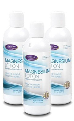Life Flo Magnesium Lotion (8oz) 3-Pack from LIFE-FLO