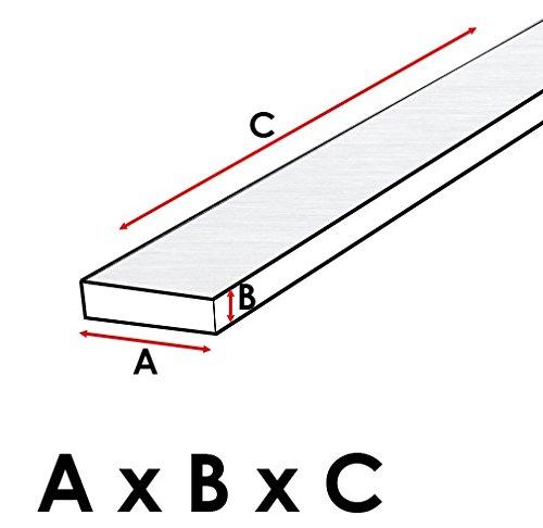 natur Aluminium 2000 x 50 x 3 mm GAH-Alberts 472047 Flachstange