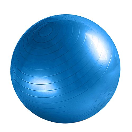 Fitness Ball Comfortable Durable Thickened Explosion-proof Yoga Gym Training Ball Blue by XFelectronics (Image #1)'
