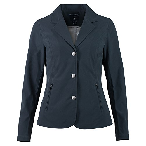 HORZE Adele Women's Summer Breathe Show Coat Dark Navy 14