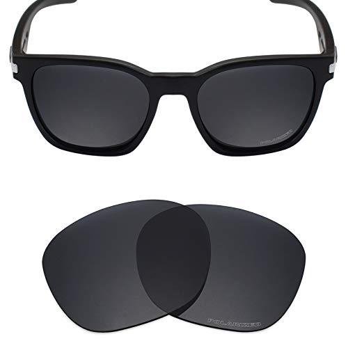 (Mryok+ Polarized Replacement Lenses for Oakley Garage Rock - Stealth Black)