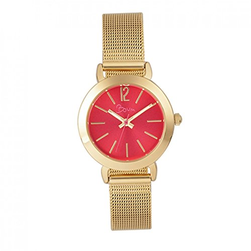 Boum Feroce Quartz Slim Mesh Metal Bracelet Watch