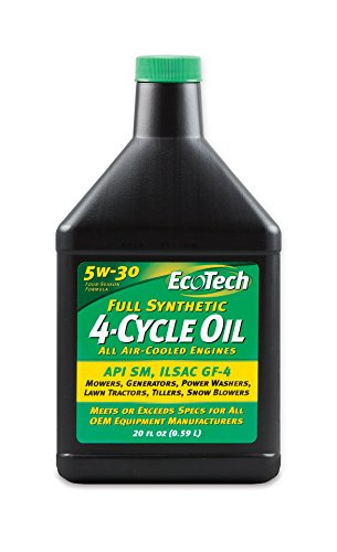 Price comparison product image EcoTech Full Synthetic 4-Cycle Oil,  20-Ounce