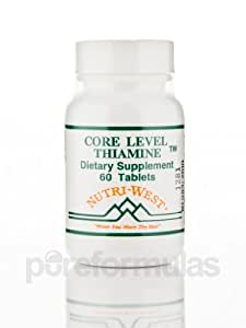 Nutri-West - Core Level Thiamine 60 Tablets